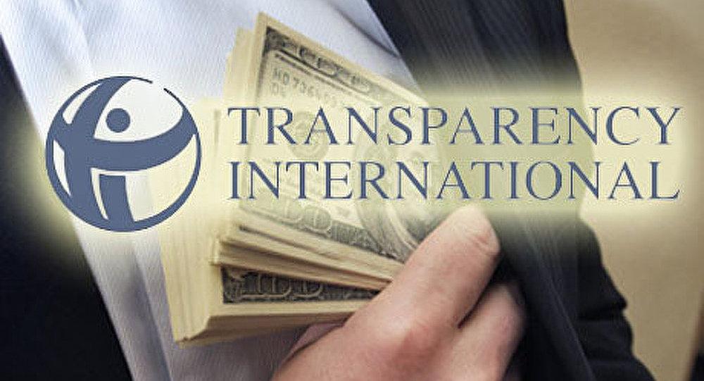 Ignorance ou mensonge commandé de Transparency International