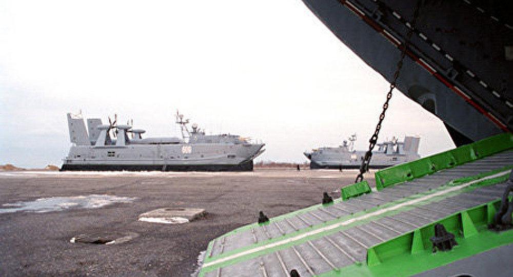 La militarisation de la mer Caspienne