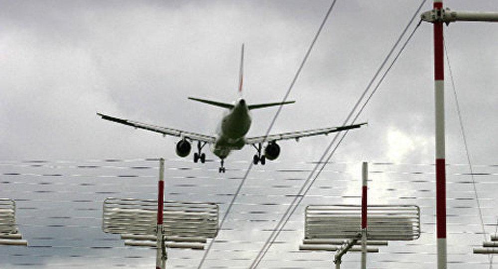 Atterrissage forcé d'un avion à Ioujno-Sakhalinsk