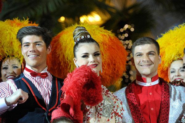 La tournée moscovite du Moulin Rouge est une première dans l'histoire du célèbre cabaret, fondé en 1889.