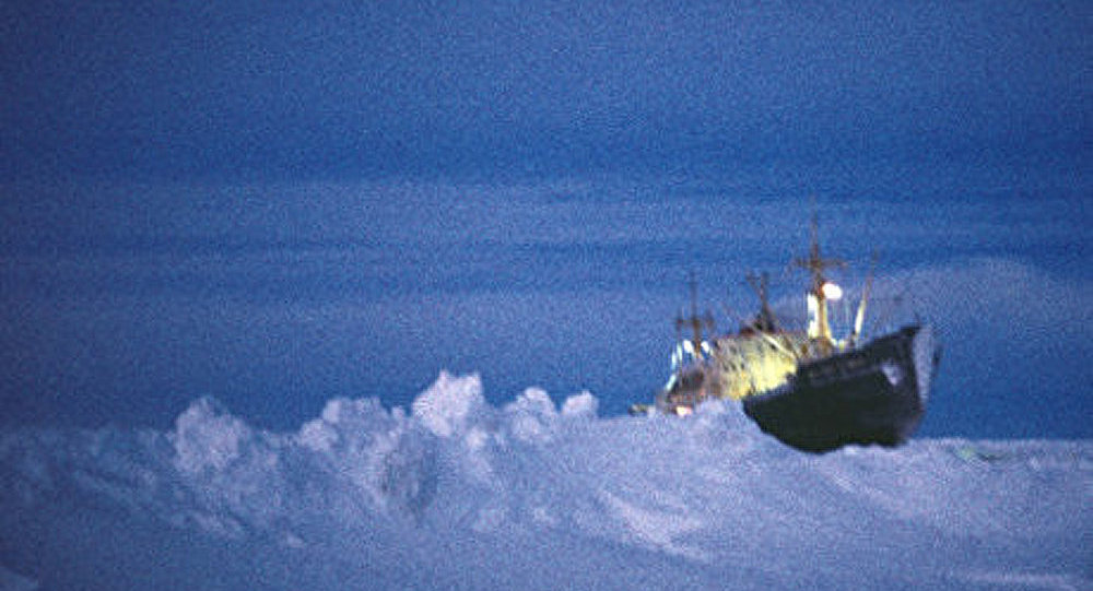 Sauvetage du navire de pêche Sparta