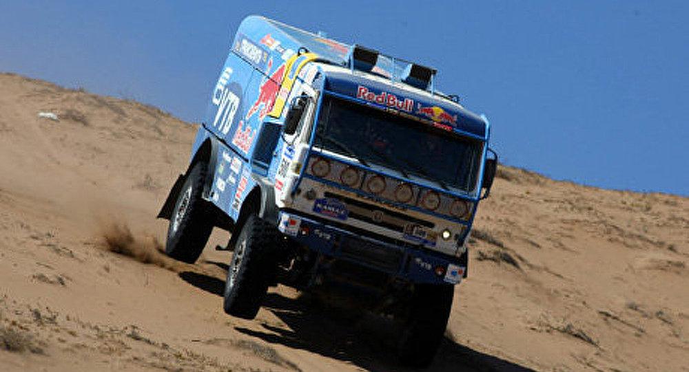 Dakar 2012: l'équipe de KAMAZ deuxième