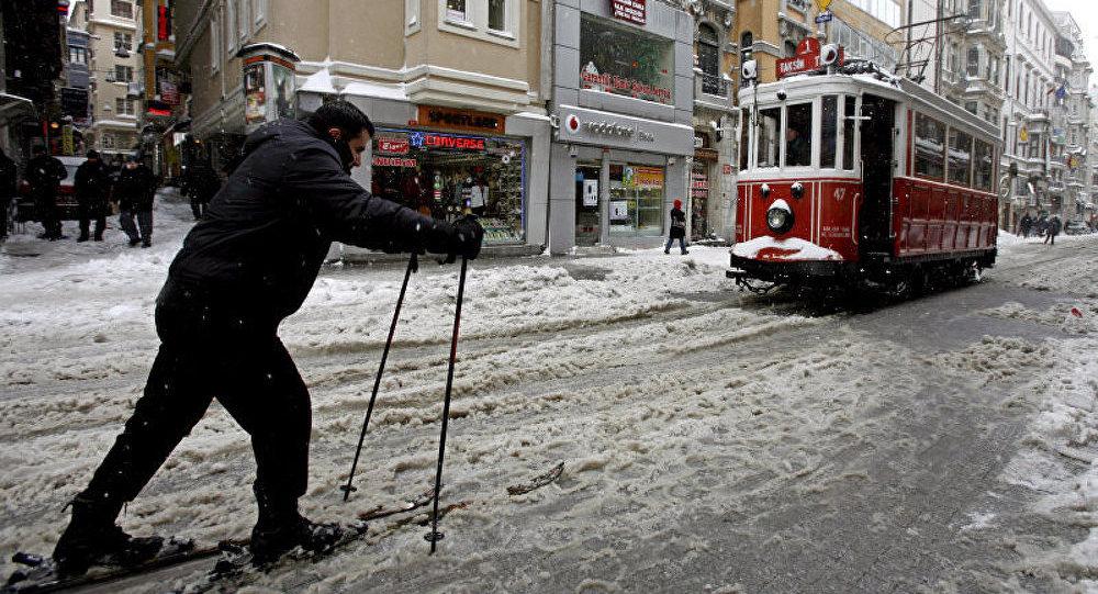 Un froid arctique s'abat sur la Turquie