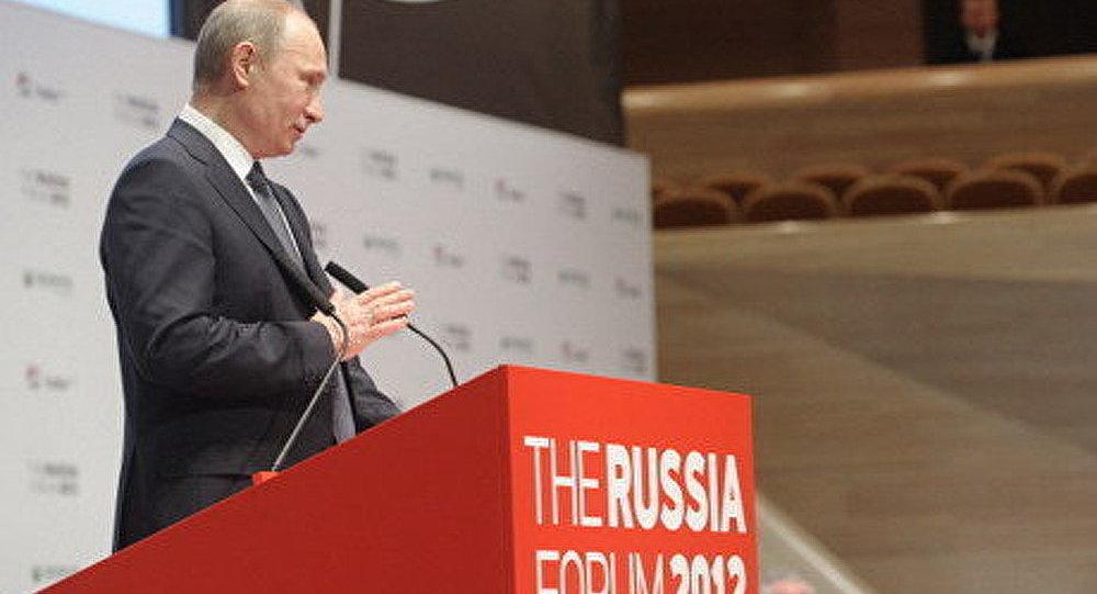 Russie parmi les 5 grandes puissances économiques du monde (Poutine)