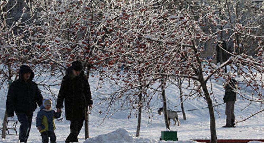 Vague de froid exceptionnel en Russie