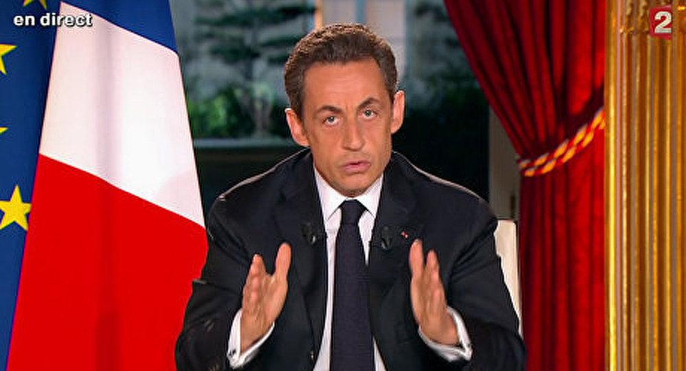 Le programme présidentiel de Nicolas Sarkozy