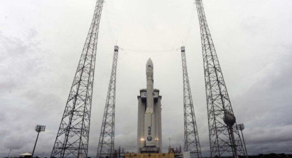 Guyane française: le premier tir du lanceur européen Vega