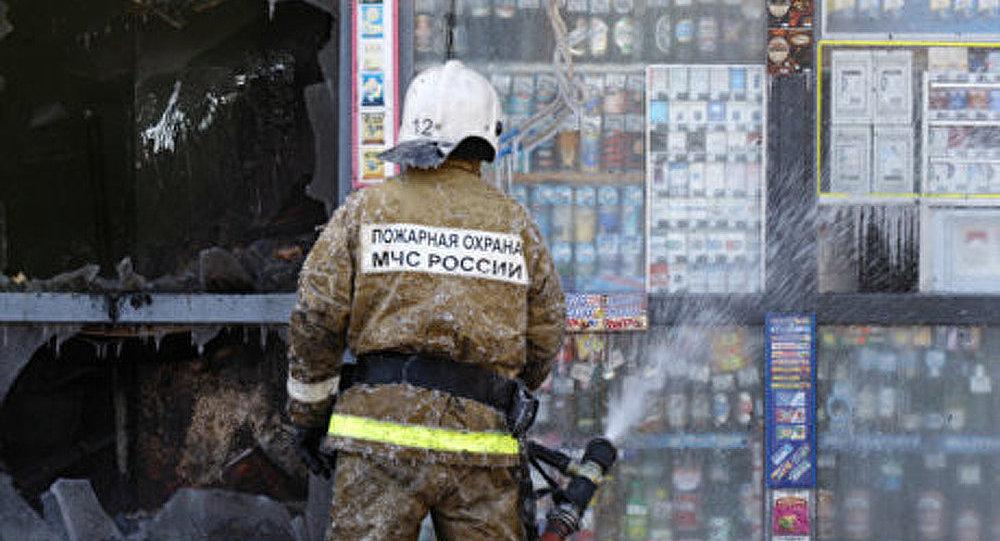Incendie dans une usine de constructions mécaniques à Saint-Pétersbourg