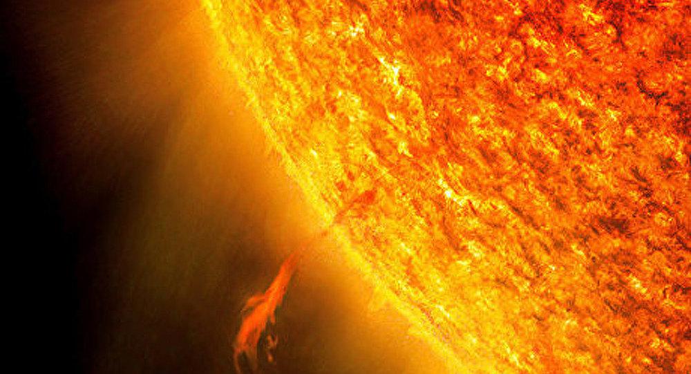 Une violente explosion enregistrée sur le Soleil
