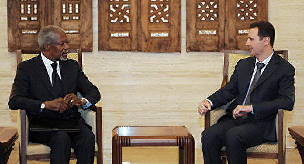 Syrie: Bashar al-Assad rejète la proposition de Kofi Annan
