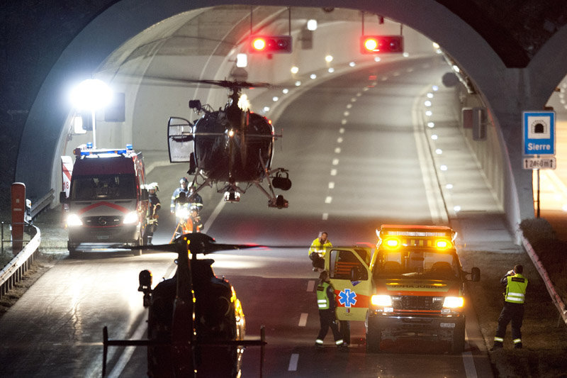 Encore 24 enfants ont été blessés dans l'accident. Ils ont été tous admis dans des hôpitaux du Valais, de Lausanne et de Berne.