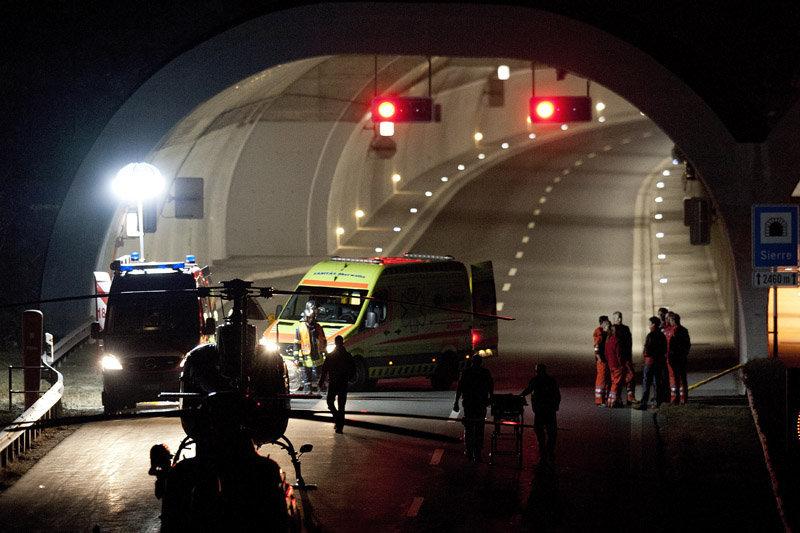 L'accident a perpétré à Sierre, dans le canton du Valais (sud de la Suisse).