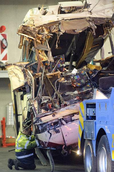 L'autocar transportait 52 passagers.
