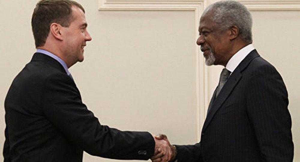 Kofi Annan ne sait pas qui fournit des armes à l'opposition syrienne