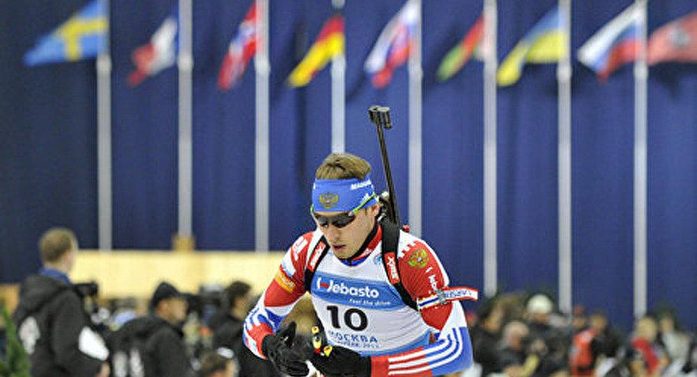 « La course des champions » : la pluie n'est pas un obstacle pour le biathlon