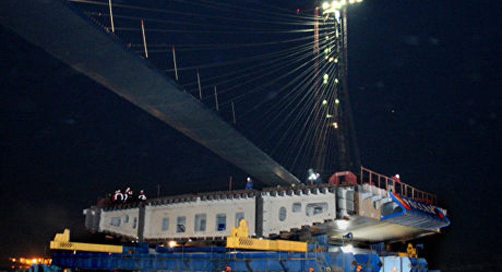 Vladivostok : le plus haut pont suspendu au monde