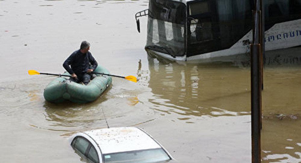 Géorgie : les inondations à Tbilissi ont fait 5 morts et près de 30 blessés