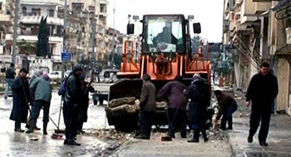 Syrie : combats acharnés à Al-Rastan