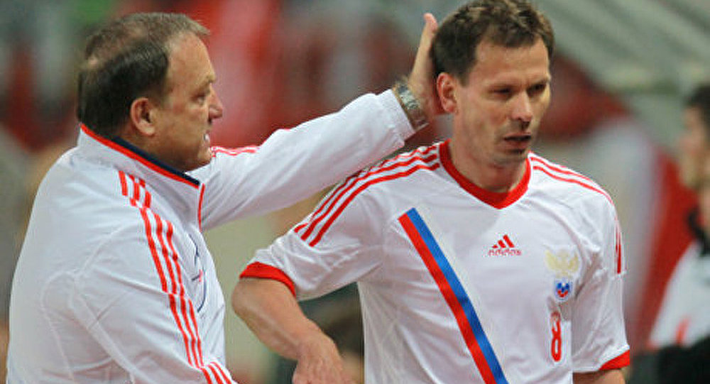 La sélection russe de football est arrivée en Suisse
