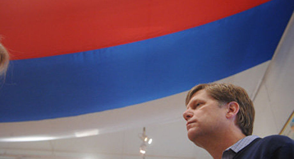 Moscou : l'ambassadeur américain admonesté