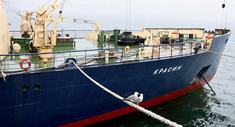Le navire brise-glaces Krasin, un navire mythique de la Marine russe