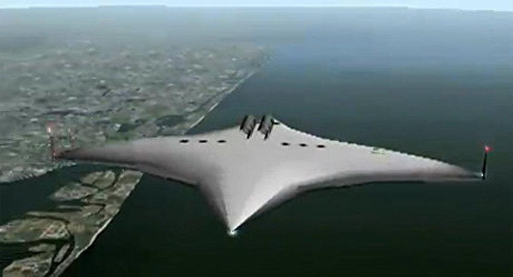 La NASA lance un projet de l'avion-étoile