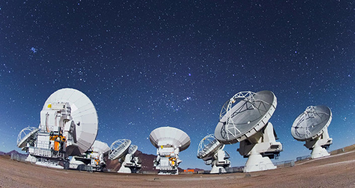 Les antennes d'ALMA