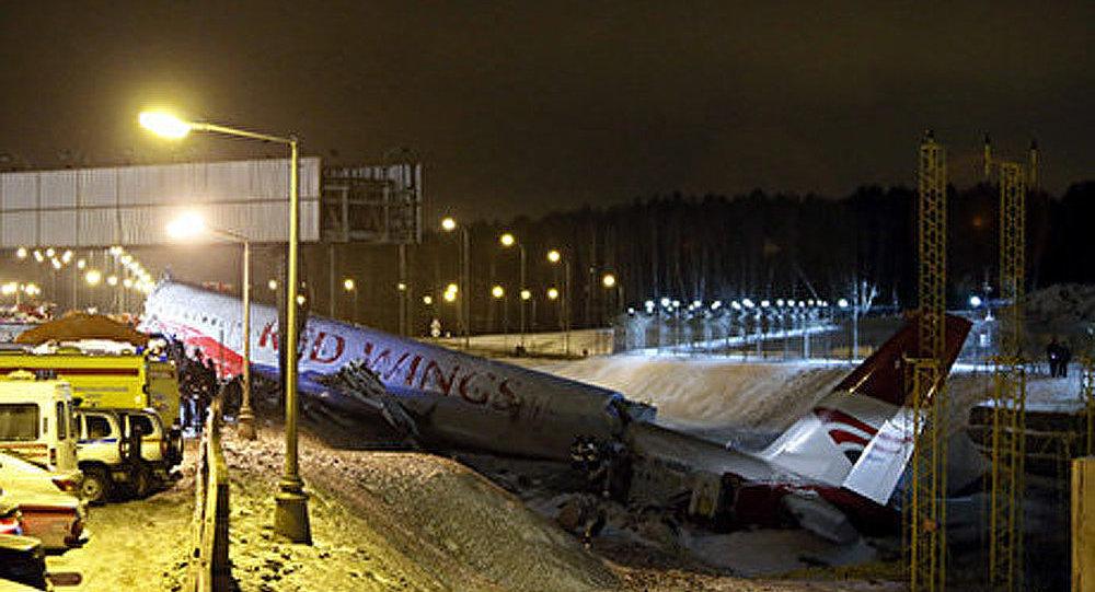 La vidéo du crash de l'avion Tu-204 à Moscou a été publiée