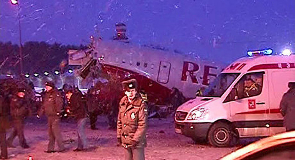 L'un des blessés dans l'accident du Tu-204 opéré