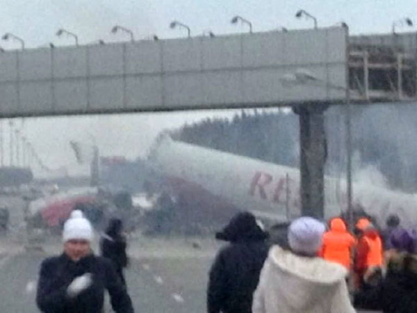 Crash de Tu-204 à Vnoukovo