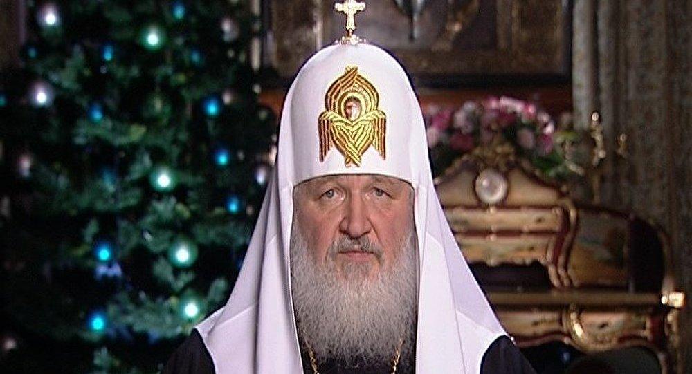 Le patriarche Cyrille célèbre l'office du Nouvel An