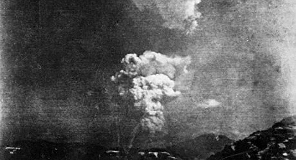 Découverte d'une photo inédite du bombardement de Hiroshima