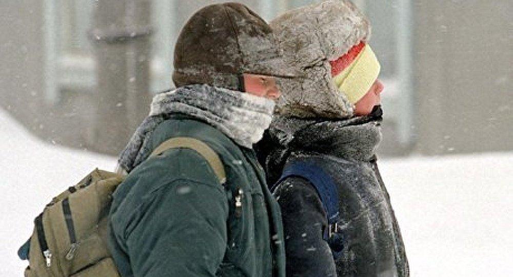Une vague de froid dans l'Extrême-Orient russe