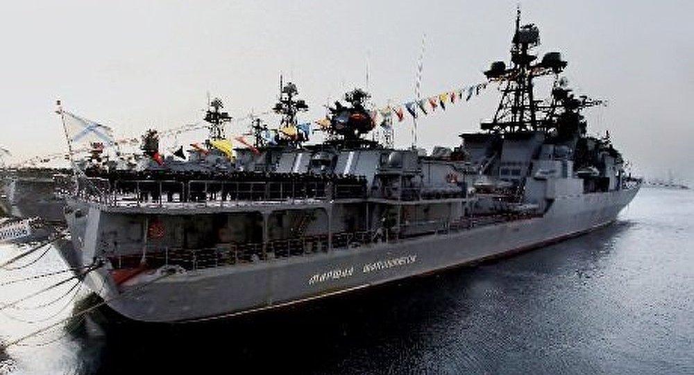 Les navires russes se dirigent vers la Méditerranée orientale