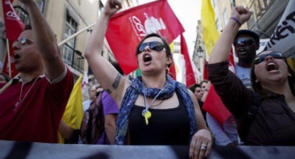 Les enseignants ont organisé une manifestation à Lisbonne