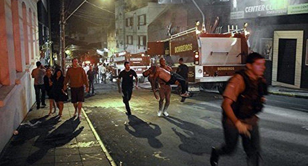 Le nombre de victimes d'un incendie au Brésil a atteint 245 personnes
