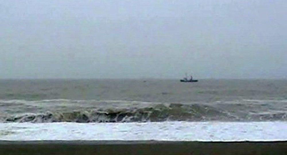 Un bateau de pêche a chaviré dans la mer du Japon