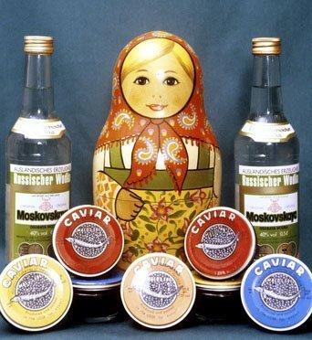 Aujourd'hui, la vodka est une marque russe, tout autant que les matriochkas et le caviar rouge.