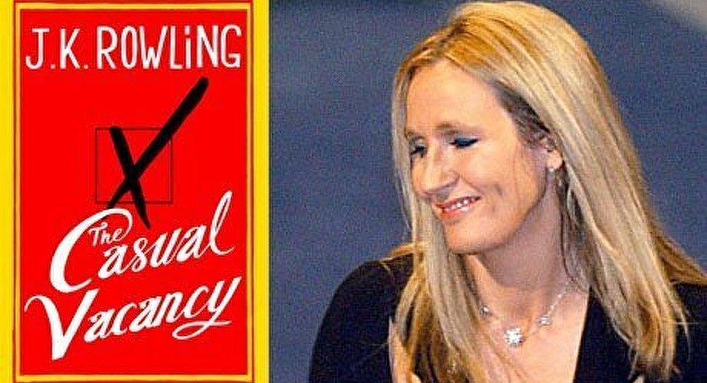 Nouveau livre de Joanne Rowling en Russie