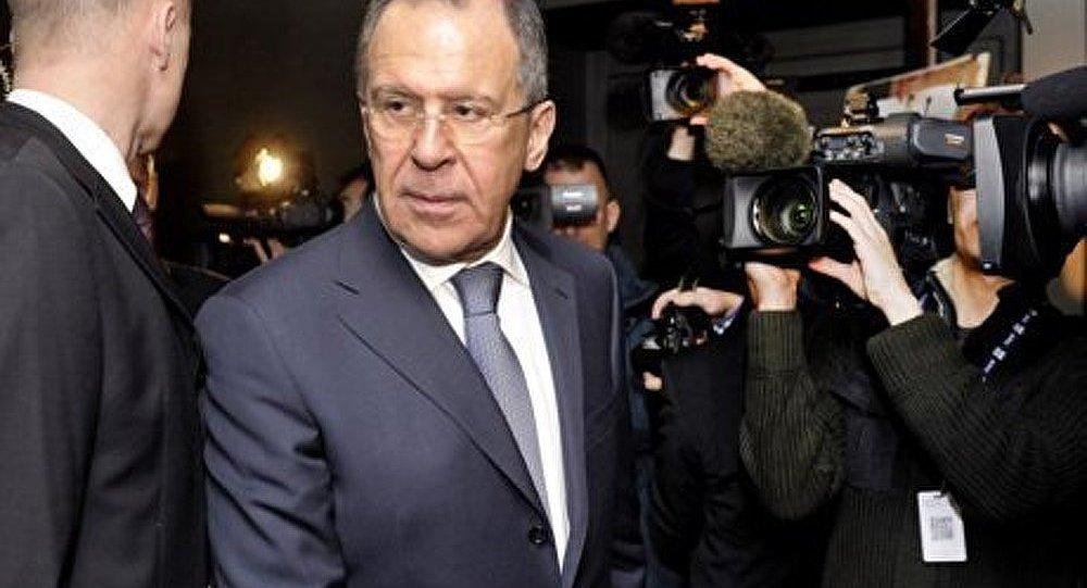 Le ministre russe des Affaires étrangères a défendu la Syrie