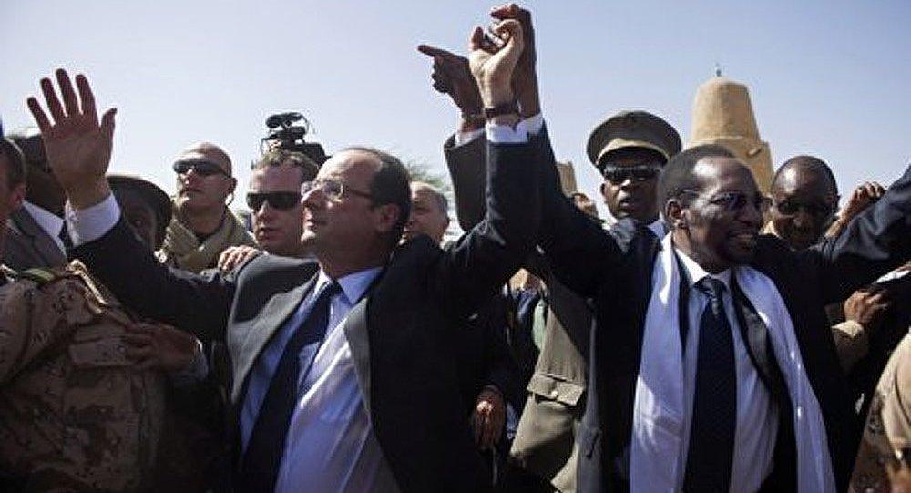 La France n'a pas l'intention de rester au Mali