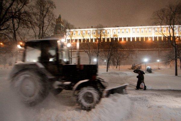 15 000 chasses-neige sont en action à Moscou.