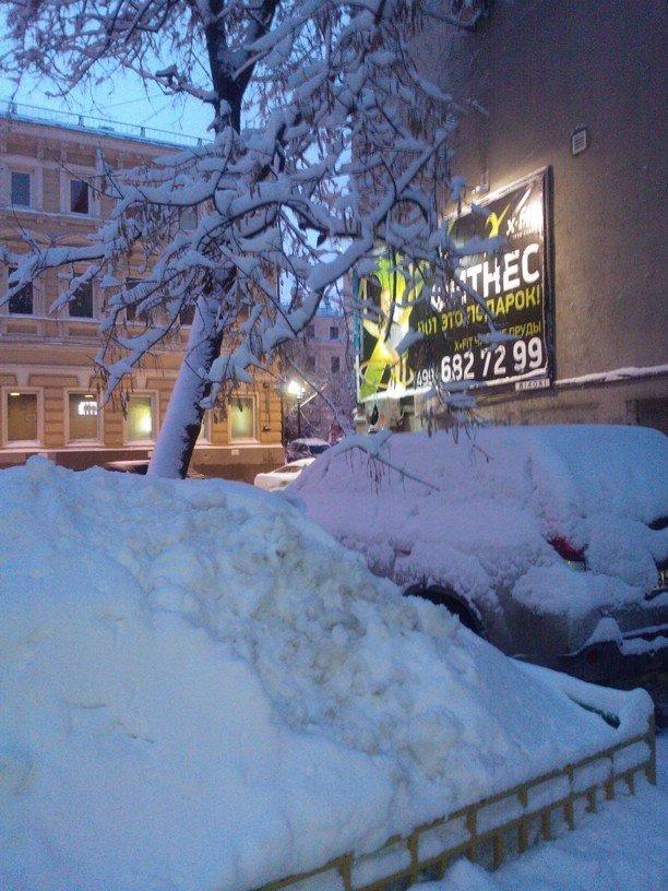 Des chutes de neige à Moscou ont provoquées de nouveaux embouteillages