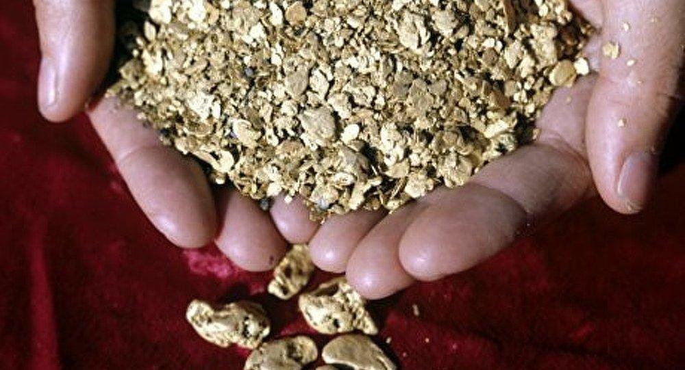 Production d'or en hausse de 1,5 % en 2012