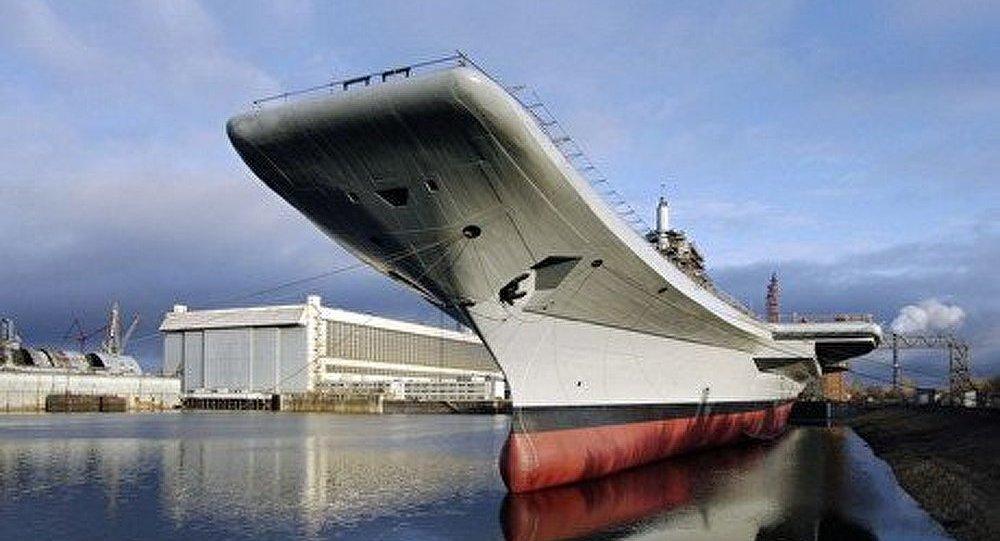 Le porte-avions Vikramaditya sera livré à l'Inde à la fin de l'année