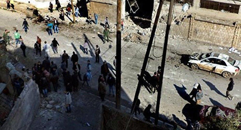 Explosion à proximité d'un bâtiment du service de renseignement syrien