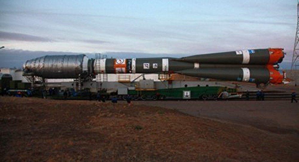 La fusée Soyouz a été lancée depuis Baïkonour