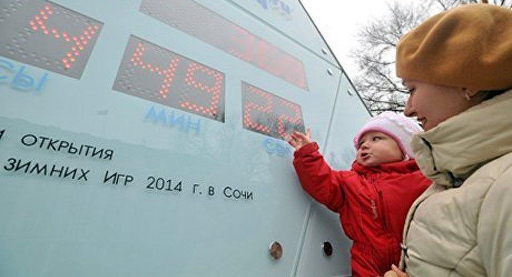 La Russie compte les secondes avant le début des JO de Sotchi