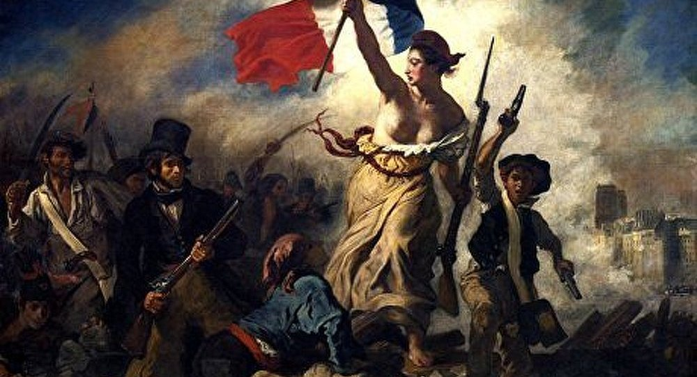 France : une visiteuse écrit au marqueur sur un chef d'œuvre de Delacroix