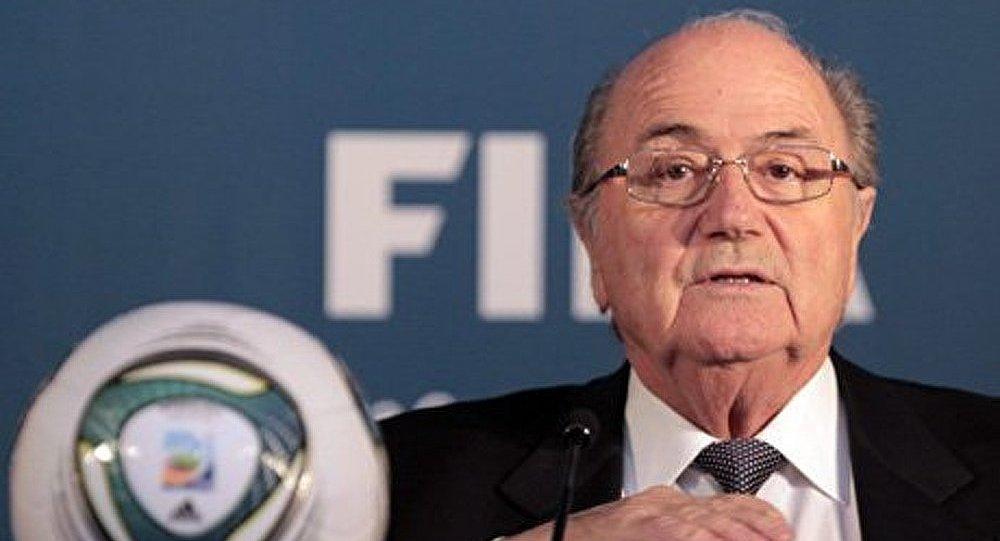 Le président de la FIFA a parlé du trucage des matches
